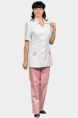 Медицинский костюм большого размера модель К-207 РОЗА