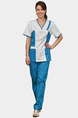 Медицинский костюм женский К-355