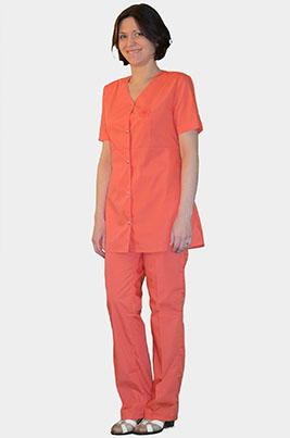 Цветной медицинский костюм Л-312